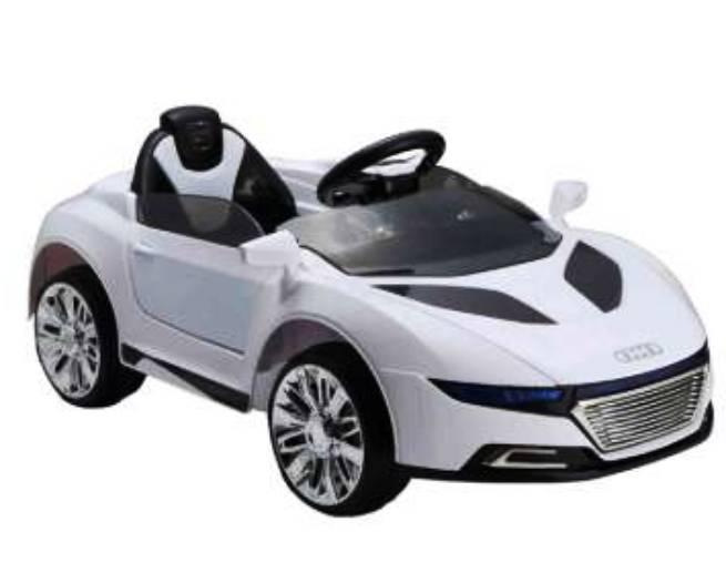 Бяла акумулаторна кола онлайн